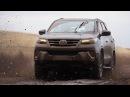 Внедорожный тестдрайв нового Toyota Fortuner Форчунер обзор, test drive off-road.