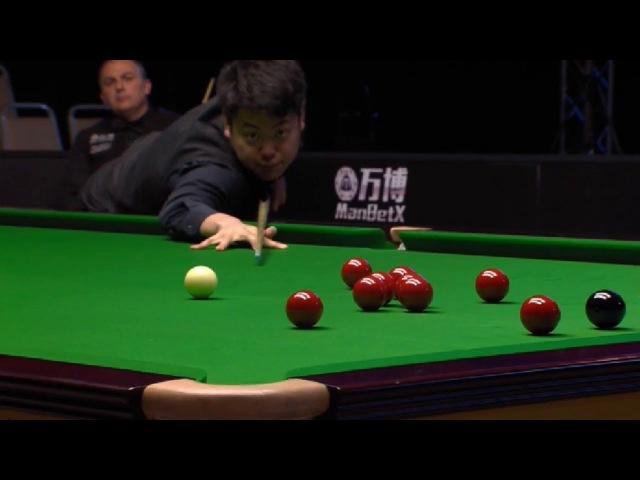 Liang Wenbo vs Alex Borg - Snooker Gibraltar Open 2018