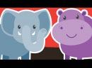 Learn Wild Animals for Kids | Video Flashcards | Kindergarten, Preschool, ESL | Fun Kids English