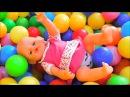 Кукла Беби Бон День Рождения на детской площадке Весёлое видео для детей Влог о...