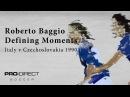 Defining Moments Roberto Baggio Italy v Czechoslovakia 1990