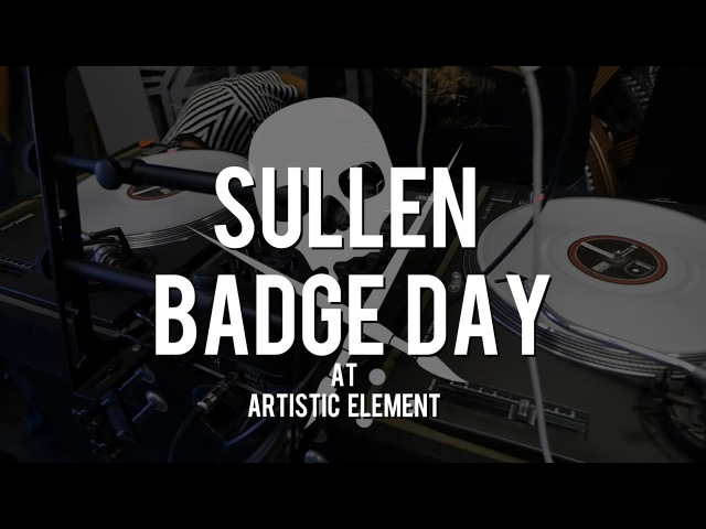 Sullen Badge Day at Artistic Element
