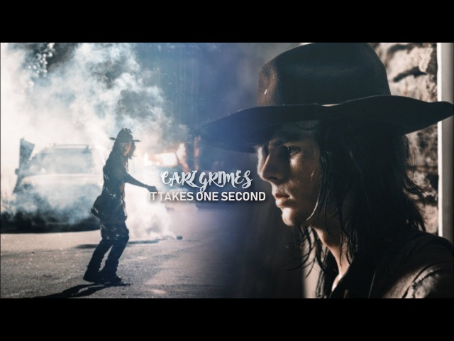 Carl Grimes | It takes one second [8x8] RIP