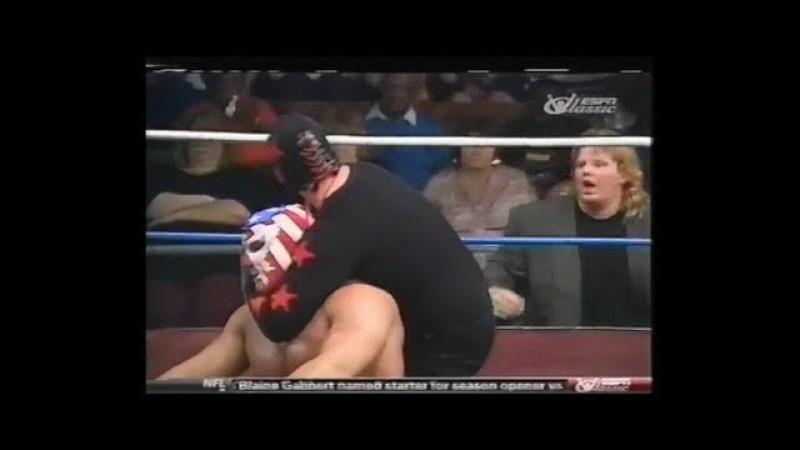 The Patriot vs Dark Patriot GWF wrestling