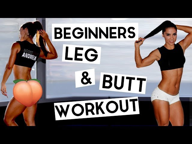 Beginners Legs and Gluteus Workout - Shape and Tone Your Booty