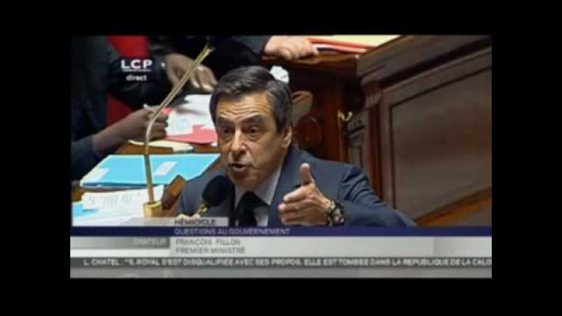 Intervention de François Fillon à l'assemblée - Le Figaro