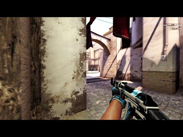Liquid tarik's 4K with AK-47 on Mirage vs NIP @ ELEAGUE CS:GO Premier 2017
