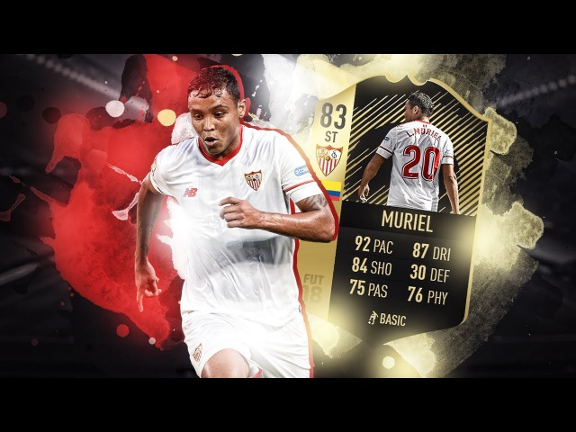 MURIEL 83 IF - ОБЗОР ИГРОКА | FIFA 18