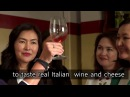 Italian food, wine cheese master class from Milan