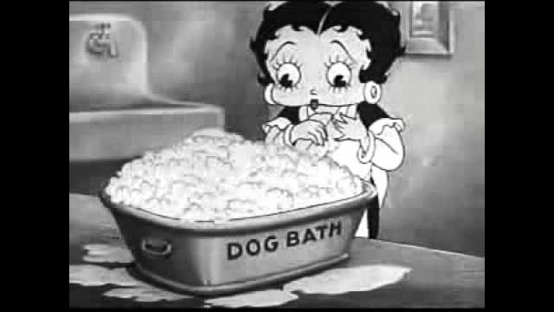 Betty Boop: A little soap and water