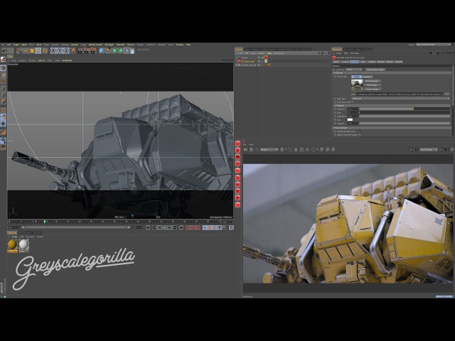 Redshift for Cinema 4D Creating Weathered Materials