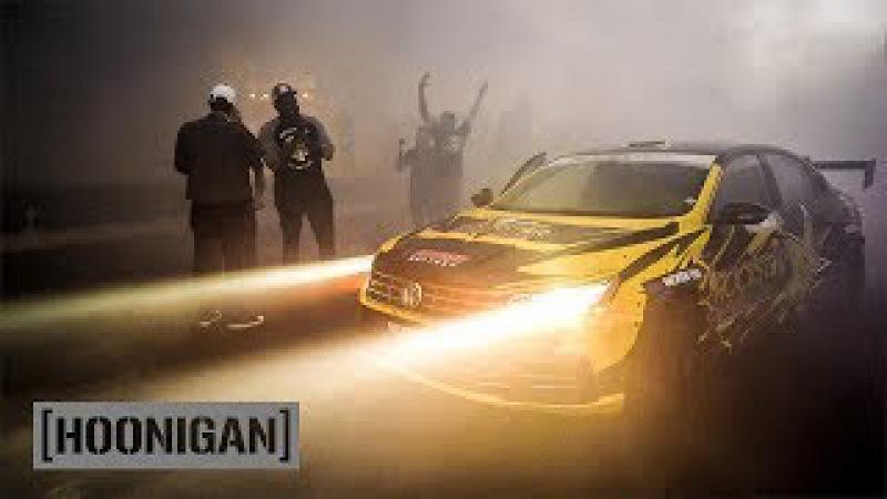 [HOONIGAN] DT 194: Tanner Foust Ultimate Smokeshow Man-Line in VW Drift Passat