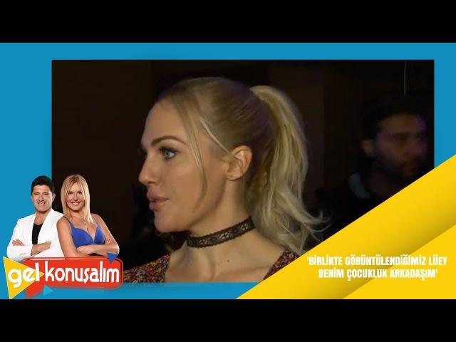 Gel Konuşalım | 56. Bölüm | Meryem Uzerliden Lüey Nohutla aşk iddialarına açıklama Video Detay