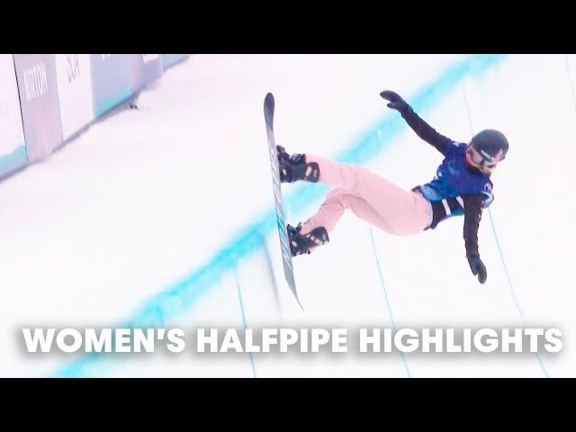Women's Halfpipe Highlights | Burton US Open 2018