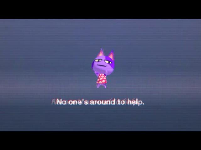 No ones around to help.