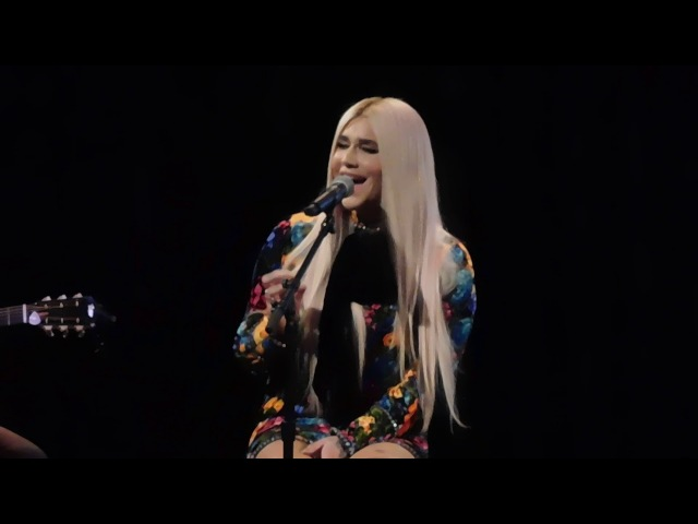 Kesha - Spaceship (Acoustic) - 2/13/18 - All For the Hall- Playstation Theatre, NYC