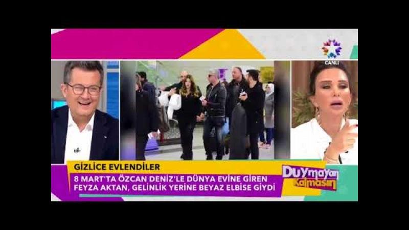 Özcan Deniz ile Feyza Aktandan sürpriz karar! Gizlice evlendiler
