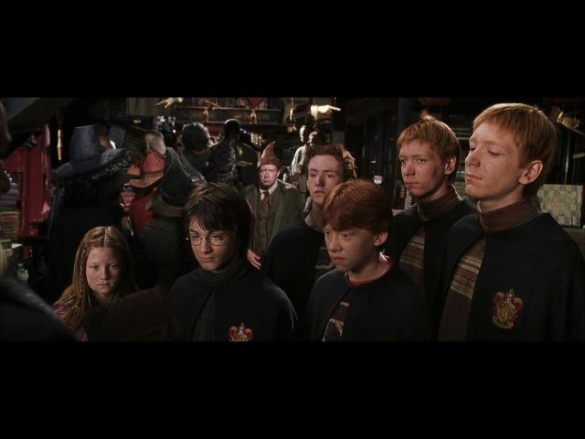 Гарри Поттер и Тайная комната.Златопуст Локонс и Люциус Малфой