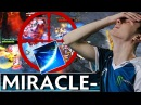 Miracle- Sven 30-0-4 One SHOT Triple Kill EPIC Gameplay - Rampage Dota 2