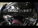 PROJECT DRAGON 143 S S Cycle's Custom T143 Drag Strip Bagger