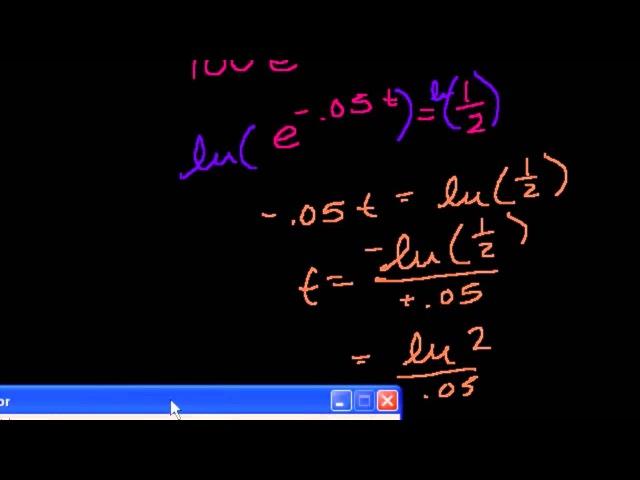 Дополнительные примеры экспоненциального распада ljgjkybntkmyst ghbvths 'rcgjytywbfkmyjuj hfcgflf