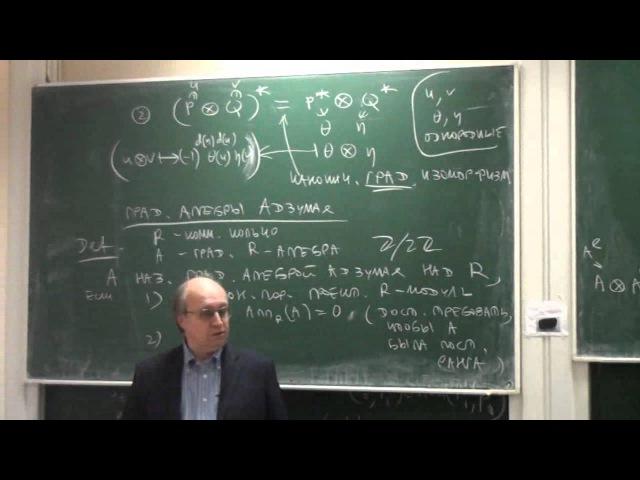 лекция 4 | Алгебры Клиффорда и спинорные группы | Николай Вавилов | Лекториум ktrwbz 4 | fkut,hs rkbaajhlf b cgbyjhyst uheggs |