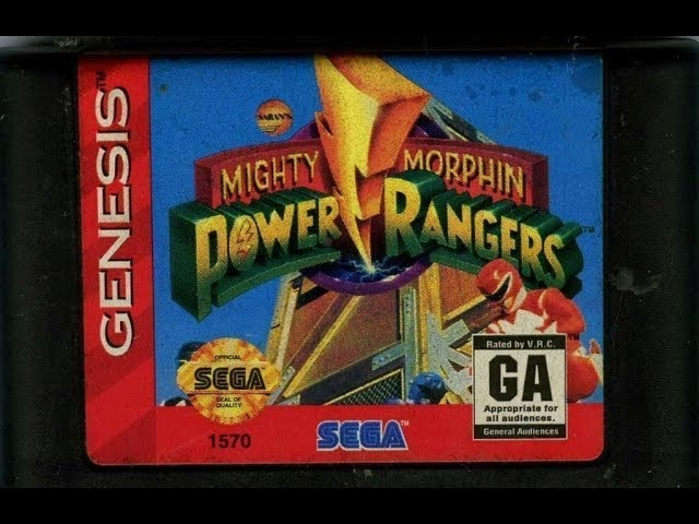 Mighty Morphin Power Rangers: The Movie; обзор (Sega)