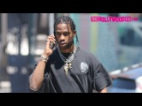 Travis Scott Mistaken For ASAP Rocky By Hollywood Tour Bus While Driving His Lamborghini 6.22.16