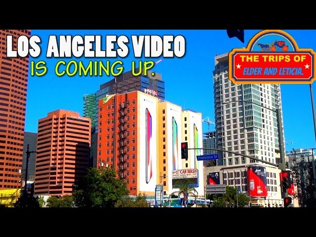 Los Angeles CA video is coming up. Do NOT miss it Subscribe.
