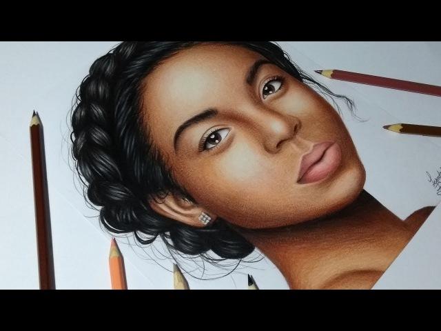 Como pintar pele negra no desenho realista