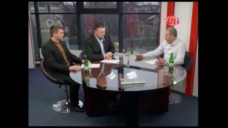 ОЛЕГ ТЯГНИБОК та МИХАЙЛО КОРОЛИК про актуальне в етері івано-франківської ТРК Р...