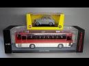 Ikarus 256.54 (ClassicBus) - грузовики ГАЗ (DiP Models) ГАЗ-22 Волга (NEO Scale Models)