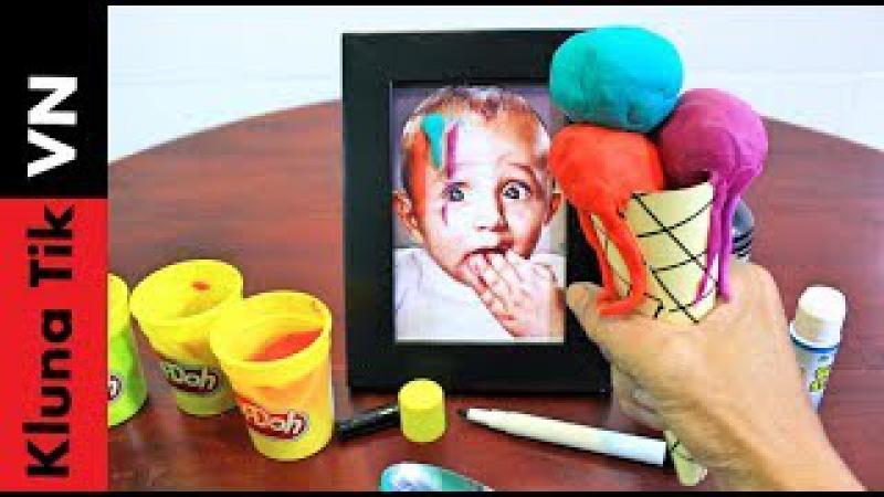 Thánh Ăn Kem Play Doh - Kluna Tik VN Diner 31 - Ăn Đồ Chơi Trẻ Em