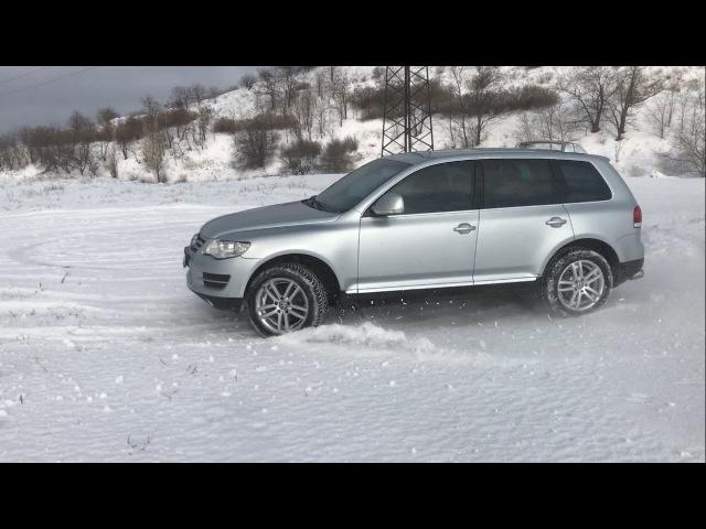 Volkswagen Touareg Тест-драйв 3.0 Dizel. Стоит ли брать Честный обзор Туарег 2008 г.в.