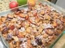 Запеканка из Чёрствого Хлеба с Фруктами и Сгущёнкой. Пудинг. Бюджетный Десерт. Fruit Pie.
