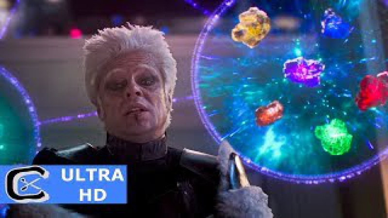 Guardians Of The Galaxy (2014) IMAX Blu-ray CLIP | The Collector Infinity Stones (Scene)