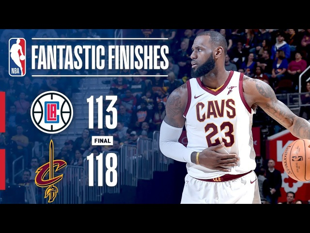Best of the Cavaliers' Comeback vs. the Clippers | November 17, 2017 NBANews NBA
