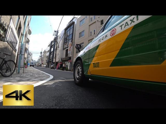 TOKYO KICK SCOOTER RIDE | ① Yoyogi-uehara ⇒ Yoyogi-koen (Chiyoda Line) 代々木上原 ⇒ 代々木公園 (千代田線) [4K]