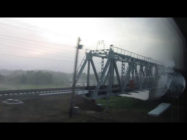 Камешково-Новки 1-Ковров 1(ГЖД). Поезд 236Г Москва-Нижний Новгород 5.07.2017