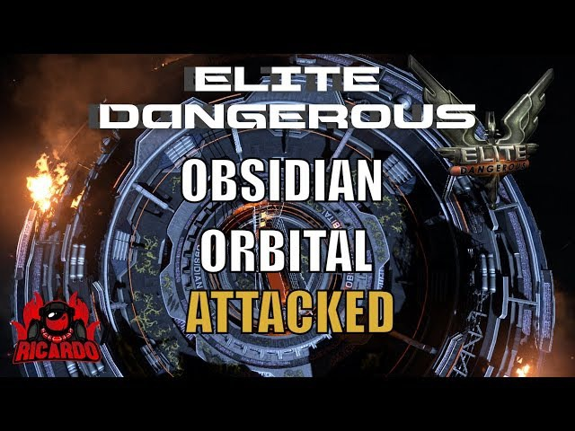 Elite Dangerous Obsidian Orbital Attacked by Thargoids
