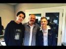 Димаш встретился с лучшим композитором Америки! Walter Afanasieff! |