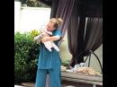 """""""Наша Миюха слушает не только детские песенки А потанцевать с мамкой вообще за милую душу😉❤️ улыбка позитив мия ..."""