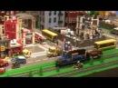Lego World 2018 в Копенгагене 1 Lego City Lego Technic гонки и 60 лет кубику