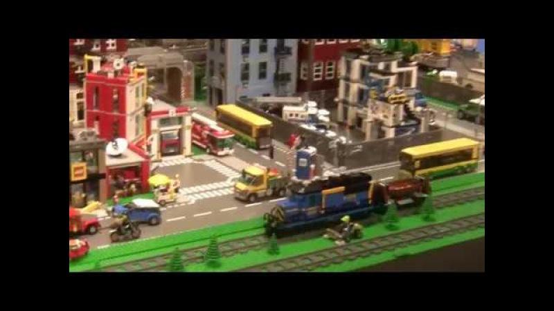 Lego World 2018 в Копенгагене 1. Lego City, Lego Technic, гонки и 60 лет кубику.