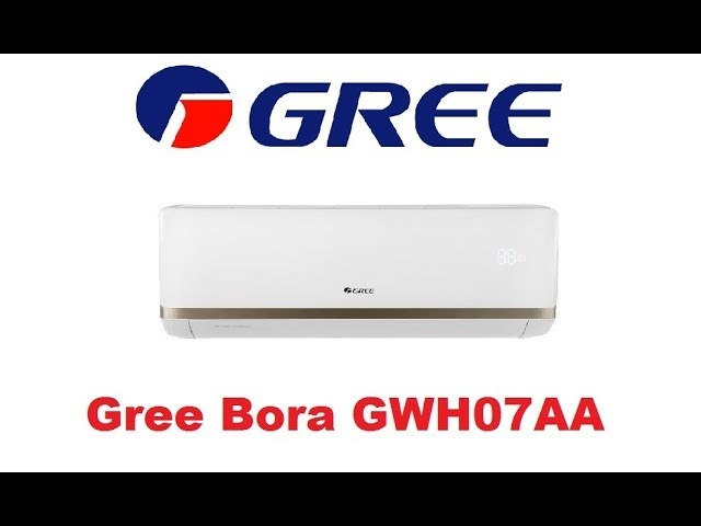 Видеообзор Кондиционера Gree Bora GWH07AAA