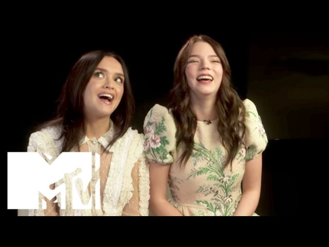 X-Men: The New Mutants' Anya Taylor Joy Talks Filming With Maisie Williams | MTV Movies