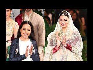 | Anju Modi | | Sunehri Kothi | | Dia Mirza | | India Couture Week 2017 | | FDCI | | ANX Media |