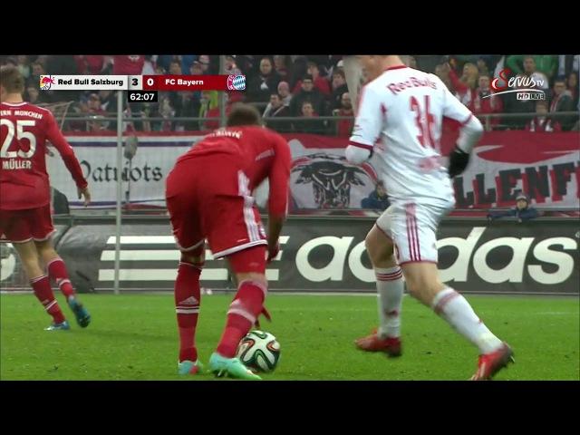 2st Half - Red Bull Salzburg vs FC Bayern München - 18/01/2014
