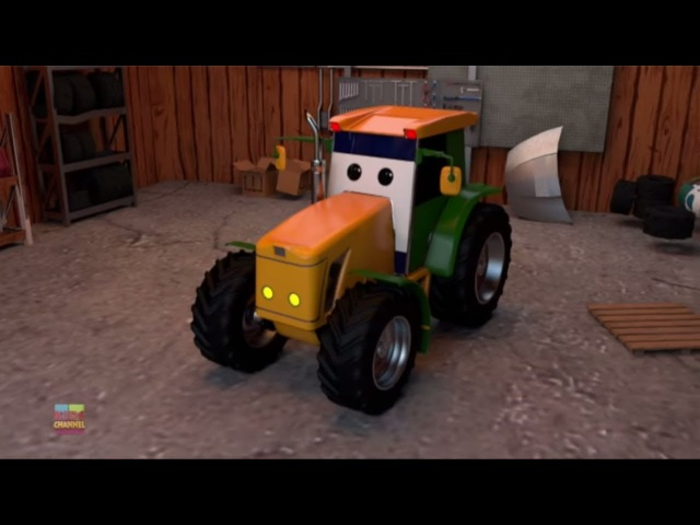 Tractor Car Garage | Learning Video For Toddlers | Kids Show | Cartoon Video By Kids Channel