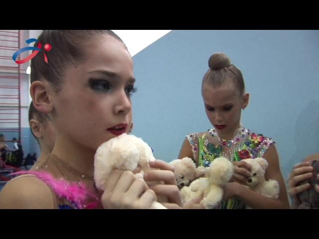 Художественная гимнастика Всероссийские соревнования Виктория ОФСОО Авангард 2017 г